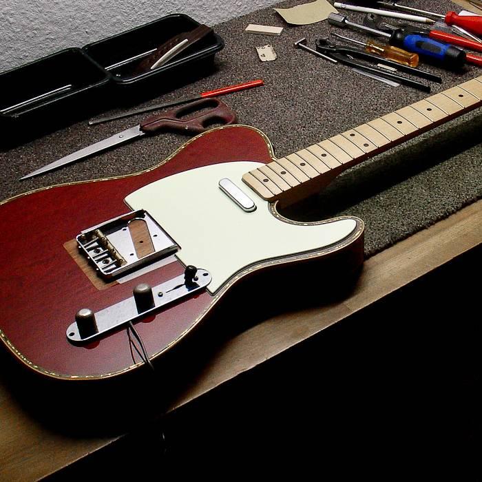 Ungewöhnlich Gitarrenschaltungen Zeitgenössisch - Elektrische ...